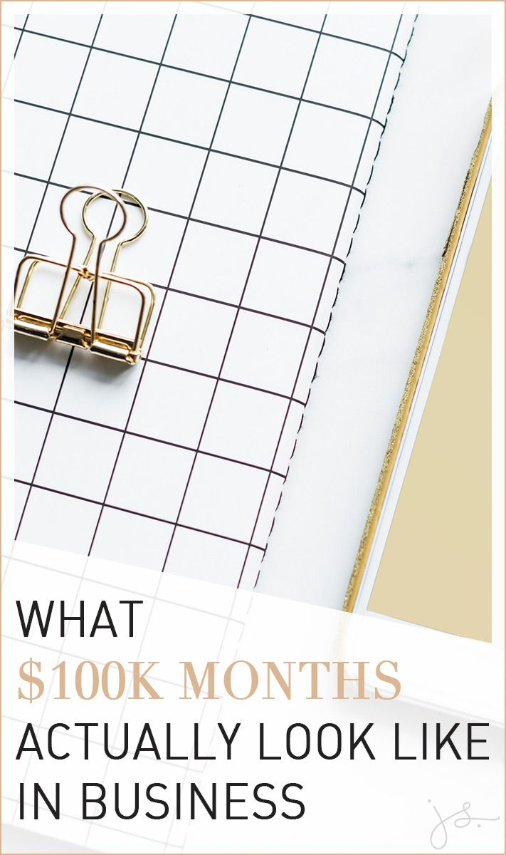 What $100k Months Actually Look Like in #Business // Julie Stoian