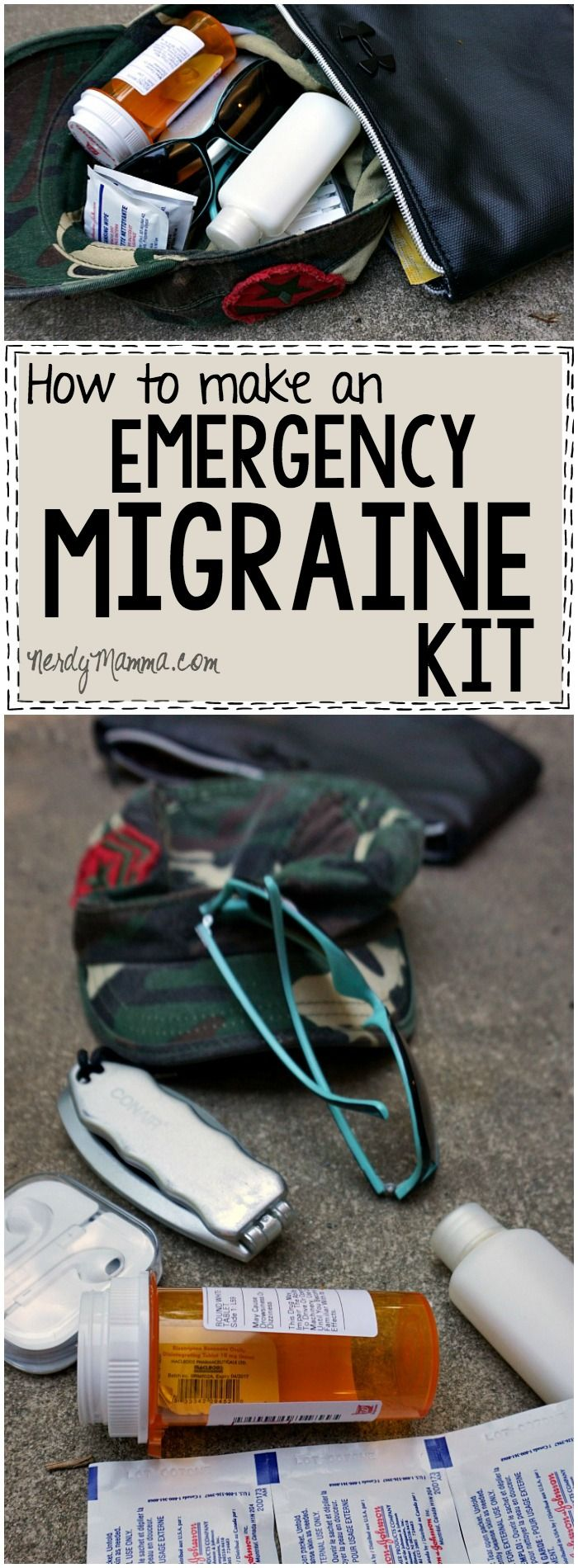 How To Make An Easy Emergency Migraine Kit