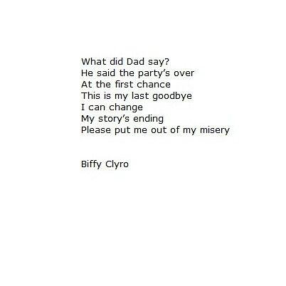 Biffy Clyro - New Album - Similarities