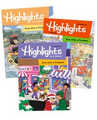 yes highlights magazine had the best puzzles
