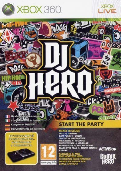 DJ Hero Xbox 360 Nuevo y Sellado. Enviamos a todo Chile.