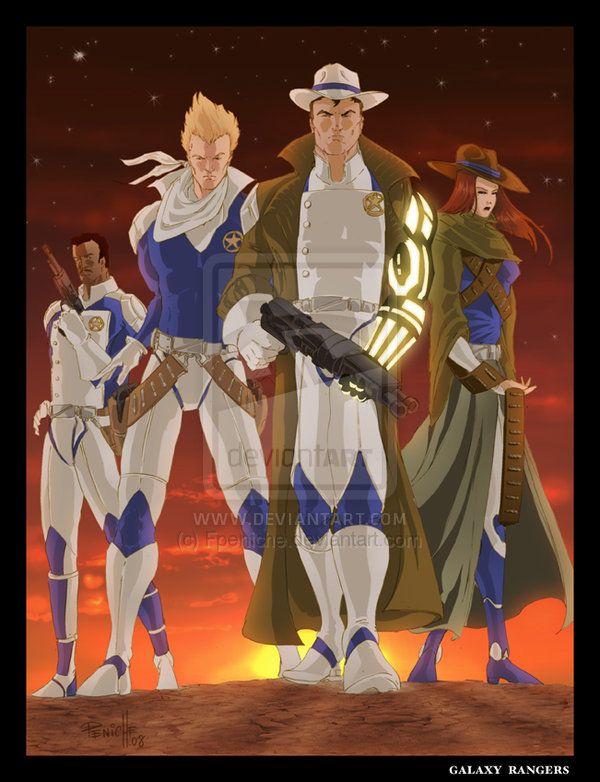 Galaxy Rangers by Fpeniche.deviantart.com on @deviantART