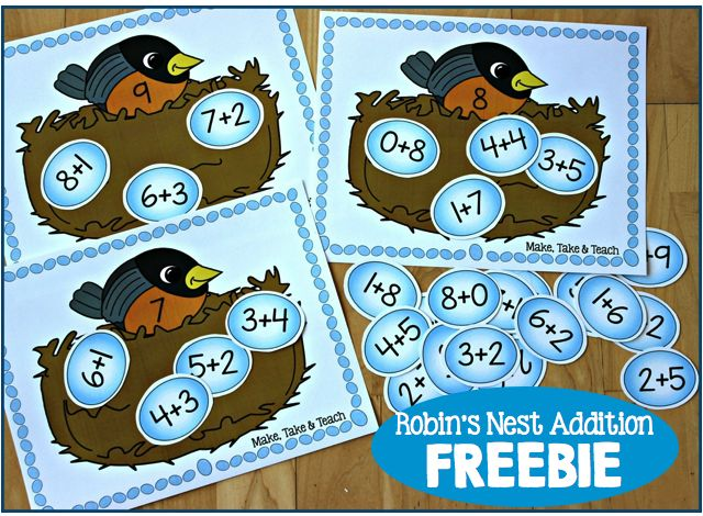 Fun FREEBIE for practicing addition facts to 10!