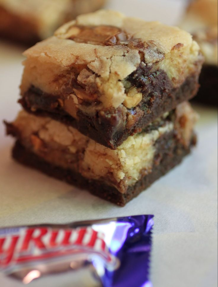 Baby Ruth Brookies   Just About Baked