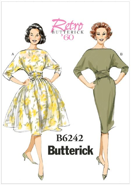 64 best Vintage/Retro Sewing Patterns (40\'s, 50\'s, 60\'s) images on ...