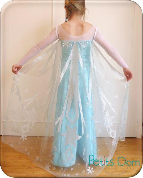 Robe de la reine des neige (avec patron)