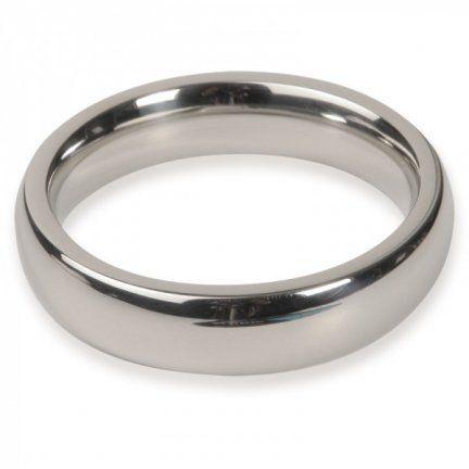 Titus Range: 45mm Donut C-Ring 15x8mm  Pierścień erekcyjny pomagający utrzymać dłuższy i twardszy wzwódszy i dający większe uczucie stymulacji. Grubość pierścienia: 8mm, szerokośc ringu 15mm.     Średnica 45mm  Wykonany ze stali nierdzewnej jakości medycznej  Dostępny na www.tabu24.pl