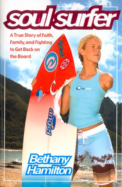 Bethany Hamilton, a teenage surfer lost her arm in a shark attack off the coast of Kauai, Hawaii. Not even the loss of her arm keeps her from returning to surfing, the sport she loves.