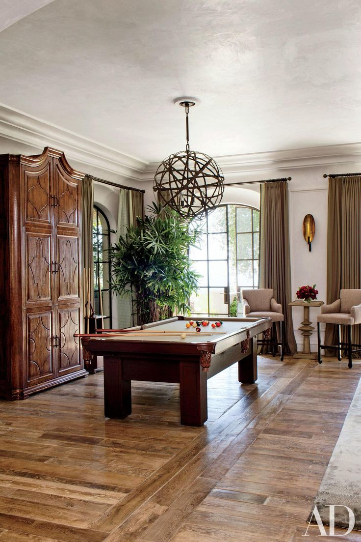 family game room family room rustic. 14 Beautiful Billiard Rooms Where You Can Play In Style Family Game Room Rustic L