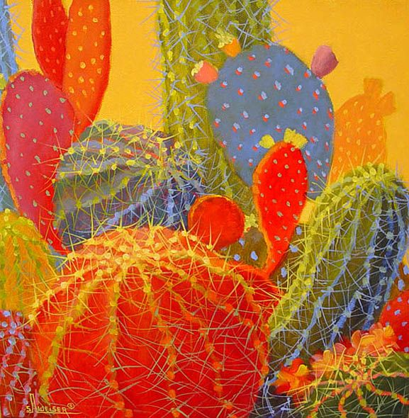 another from http://turqtortsedona.com/Artists/weiser/desert-bloom-11/artwork.htm