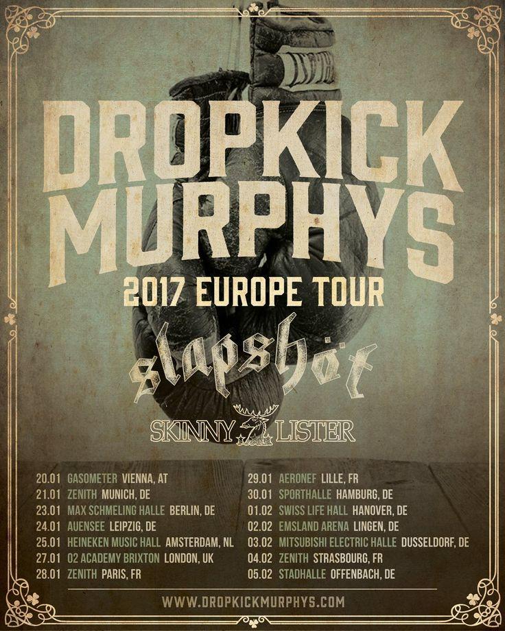 Dropkick Murphys European Tour 2017