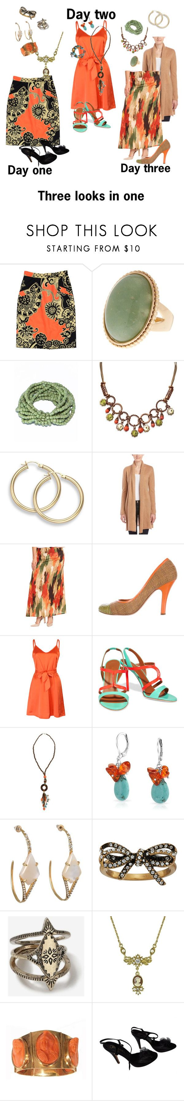 """""""Untitled #1358"""" by george-isaacs ❤ liked on Polyvore featuring TIBI, 1928, Caroline Grace, KatyaUSA, Prada, WithChic, Malone Souliers, Erica Lyons, Bling Jewelry and De Buman"""