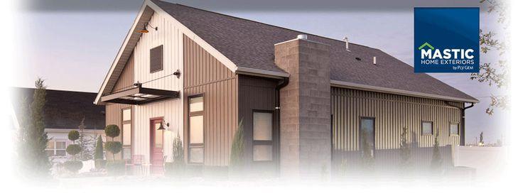 The designed exterior vinyl siding extreme home makeover for Modern house siding solutions