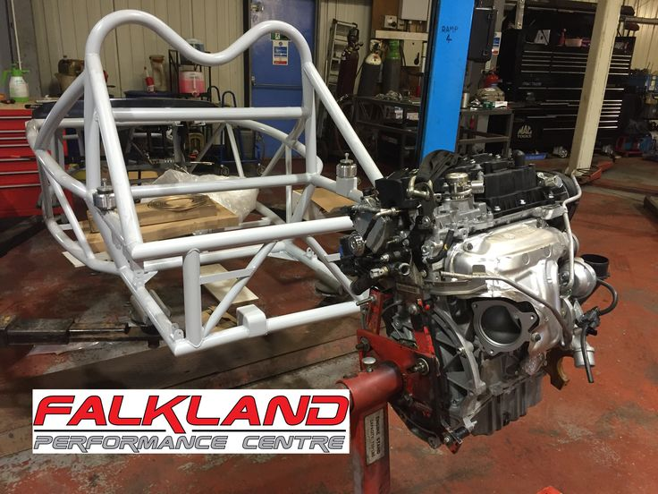 Our 1.6 EcoBoost engine, complete with custom hybrid turbocharger, freshly rebuilt and ready to be installed in the Exo Sports cars Rocket chassis.