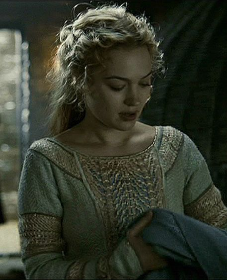 Sophia Miles:tristan and isolde movie costumes