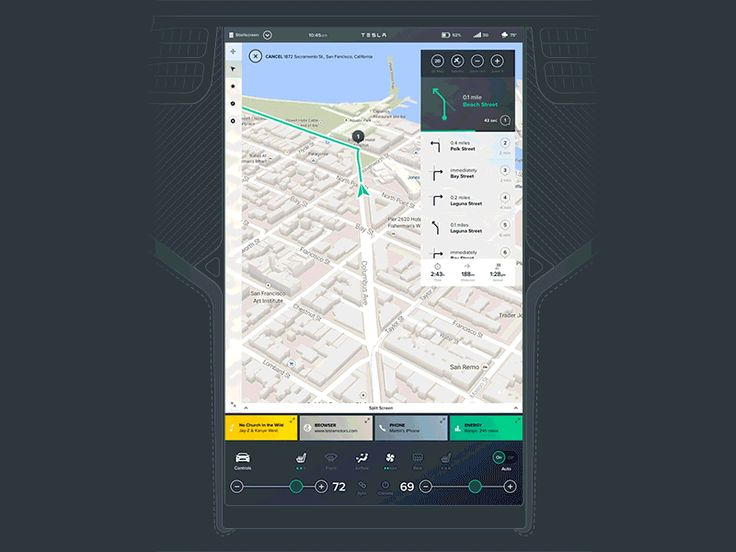 Vehicle App UI | Toptal