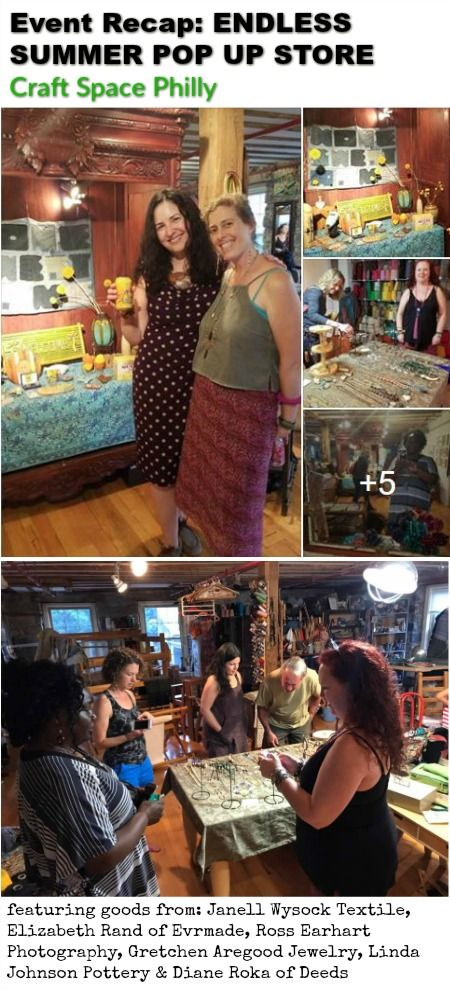 #ICYMI Recap of Endless Summer Pop Up at Craft Space Philly added to #PhillySpotlight.