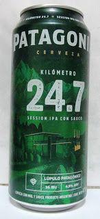 LATAS Y BOTELLAS COLECCIÓN: LATA CERVEZA PATAGONIA KILÓMETRO 24.7 , 473 CM3 O...