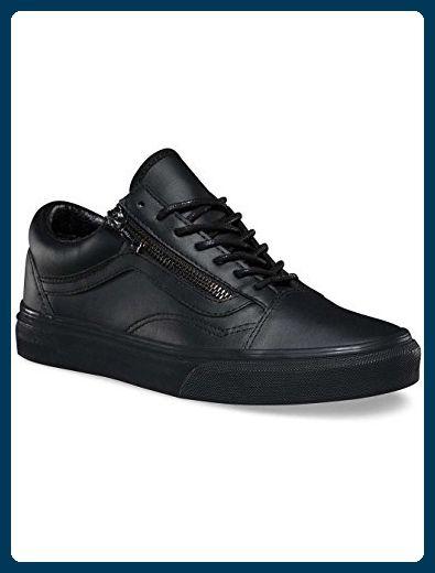 Vans Damen Gunmetal Schwarz Old Skool Reißverschluss Sneakers-UK 3 - Sneakers für frauen (*Partner-Link)