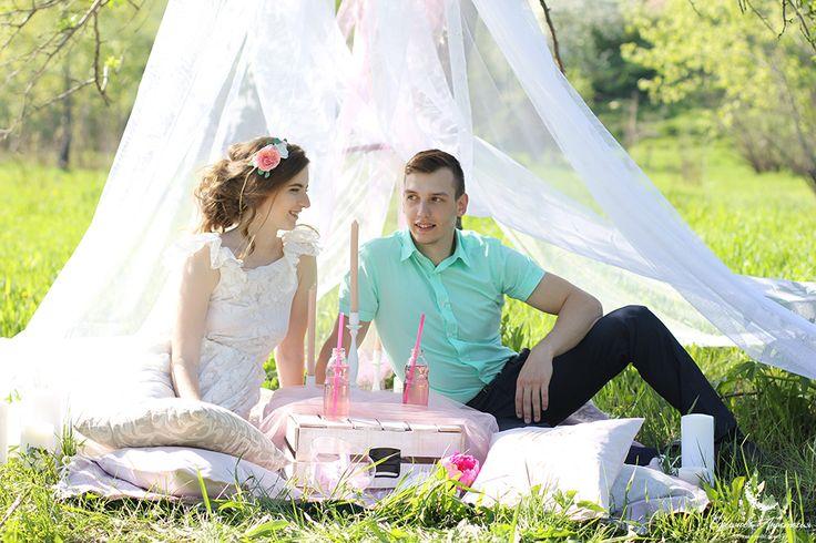 Wedding decor. Оформление свадьбы. Оформление фотосессии-пикника www.efremova-event.com