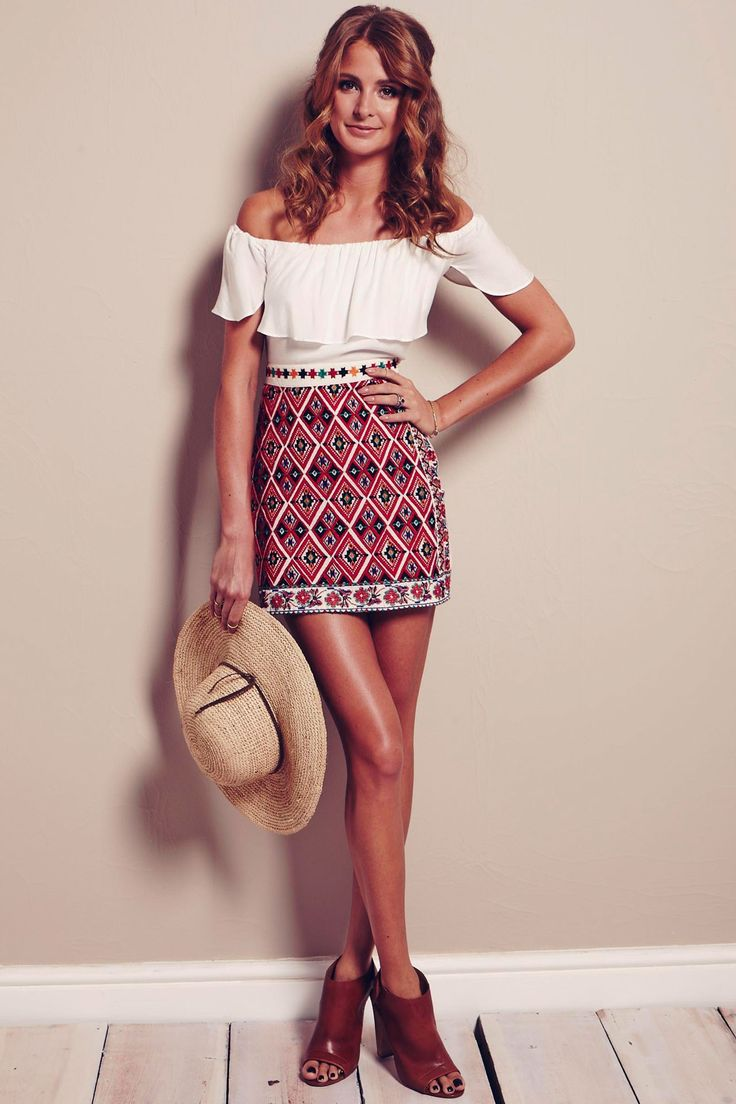Nice skirt! Again, from Topshop
