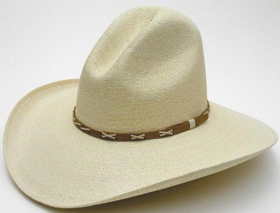 "- 4-3/8"" Brim - Gus Crown - Hatbands May Vary - Mexican Fine Palm"