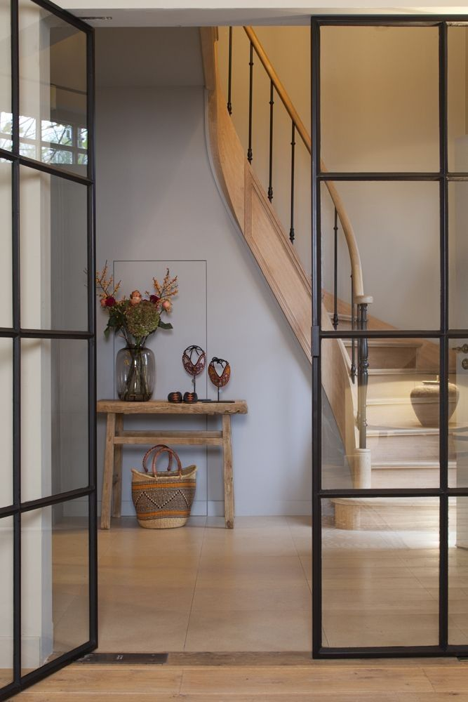 Steel Casement Doors : Best curved staircase ideas on pinterest entry