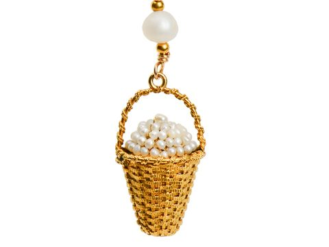 "Victorian ""Basket of Eggs"" Necklace"