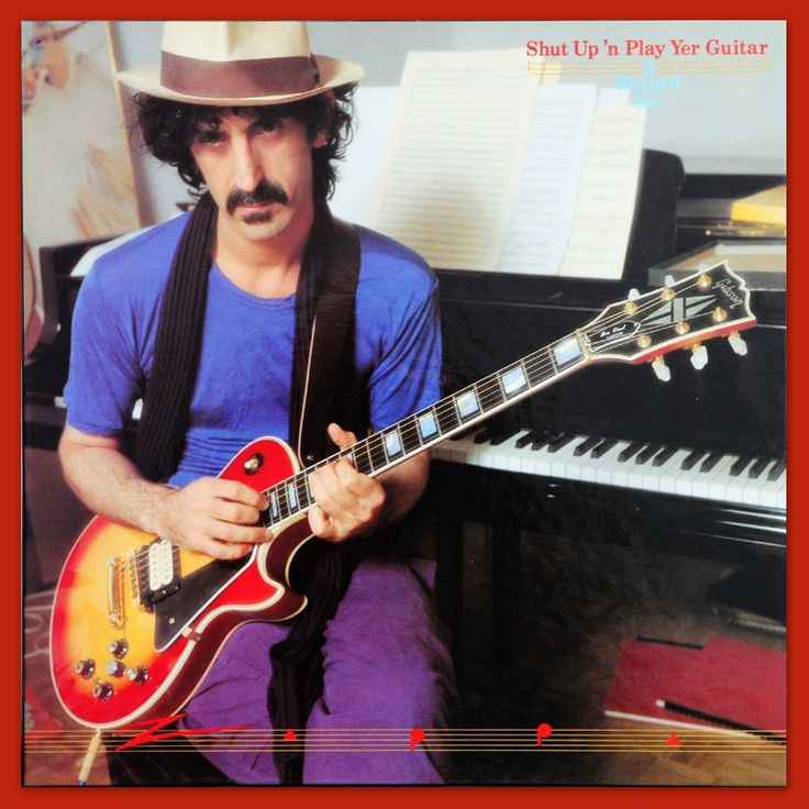 54 Best Frank Zappa Official Album Covers Images On
