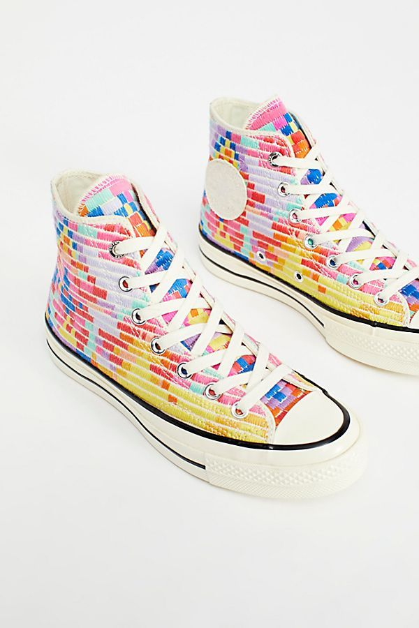 6ddcd896903e Slide View 4  Mara Hoffman x Converse High Top Sneakers