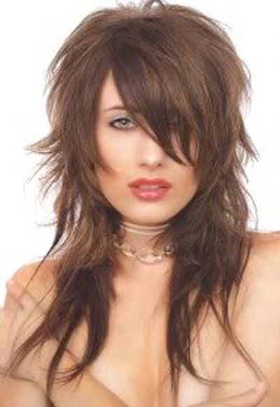 modern long shaggy hairstyles Long Shaggy Hairstyles: The 70s With ...