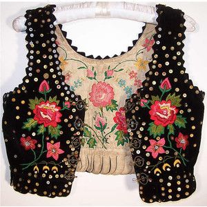 I had one just like this for a Polish Traditional Dance when I was a little girl... <3