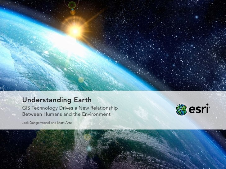 8 best gis images on pinterest google images maps and revolutions understanding earth by esri via slideshare understanding earth gis technology drive a new relationship between humans and the environment by jack fandeluxe Image collections
