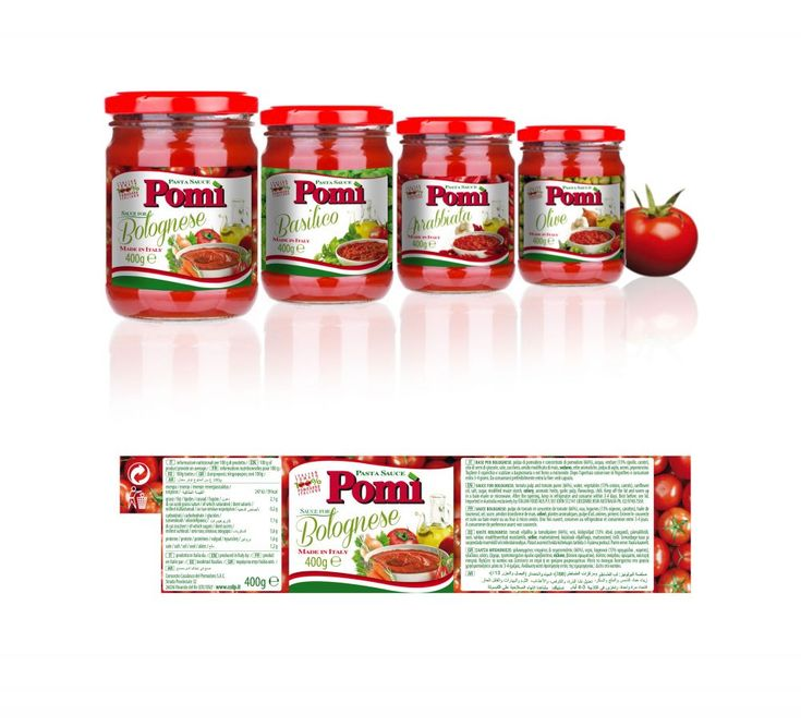 Pomì. Packaging mercati esteri