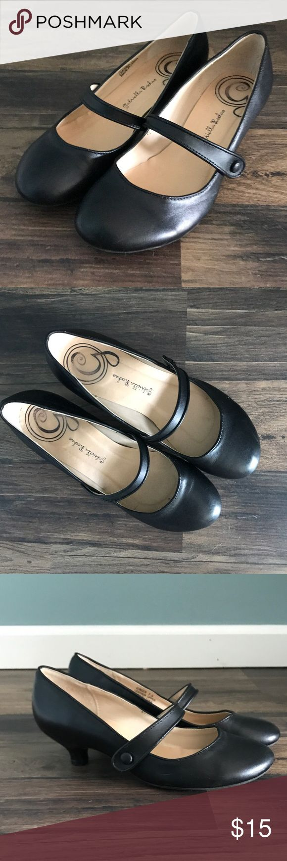 Gabriella Rocha Leather Mary Jane Pumps These are adorable and very comfortable. Size 7.5. Perfect for work. Worn once. They are in nearly perfect condition. $15 OBO Gabriella Rocha Shoes