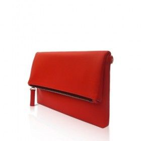 Tas Wanita - Pitta Clutch Red