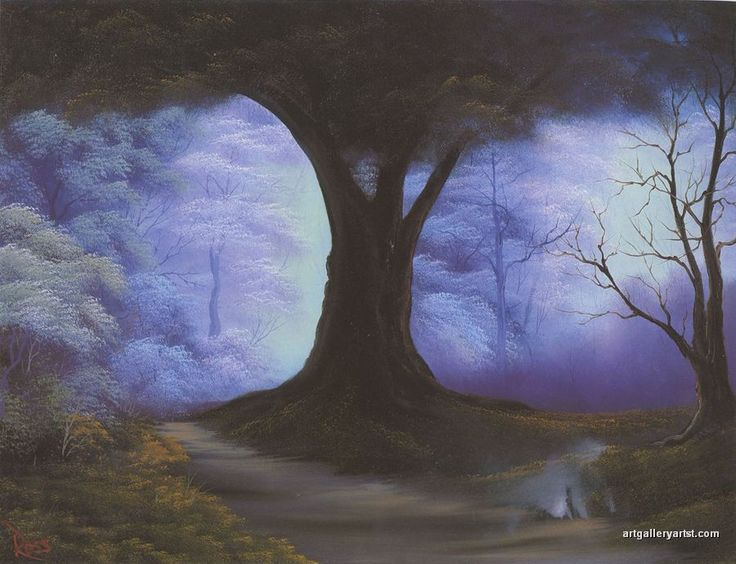 the_old_oak_tree   my favorite Bob Ross Painting ever