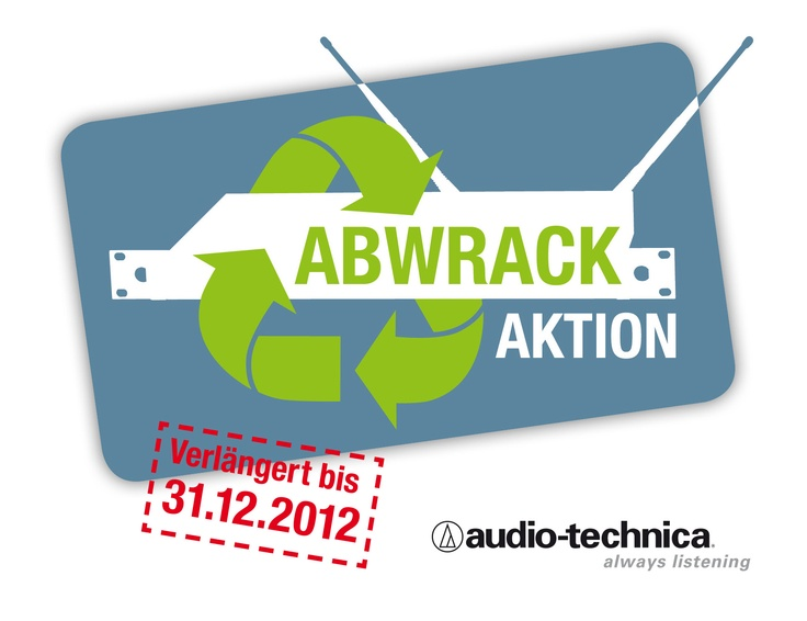 Abwrackprämie von Audio-Technica - bis zu €2000 bekommen!