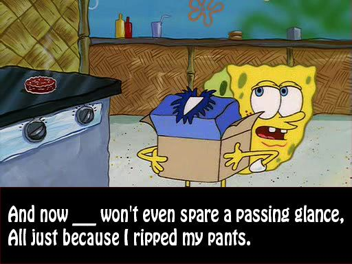 "How Well Do You Know The Song Lyrics To ""Ripped Pants"" From ""SpongeBob SquarePants?"""