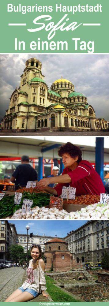 Sofias Sehenswürdigkeiten in einem Tag erkunden. So seht ihr alle Ecken der bulgarischen Hauptstadt in einem Tag auf eurem Städtetrip!