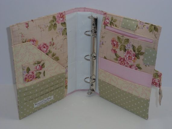 Bible Cover Book Organiser Pattern : Ring binder cover organizer planner