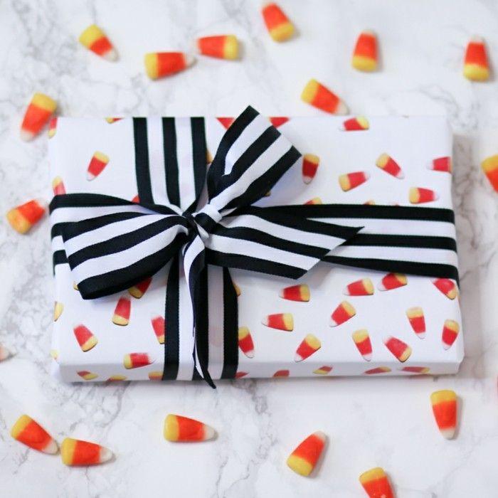 geschenkpapier weihnachten diy ideen drucken