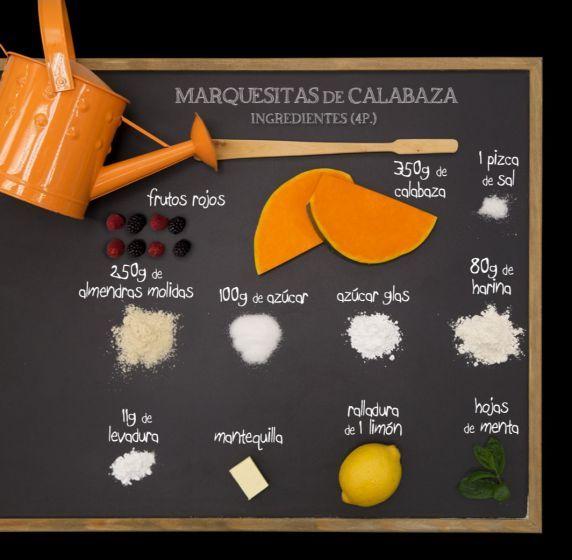 Marquesitas de calabaza - Ingredientes