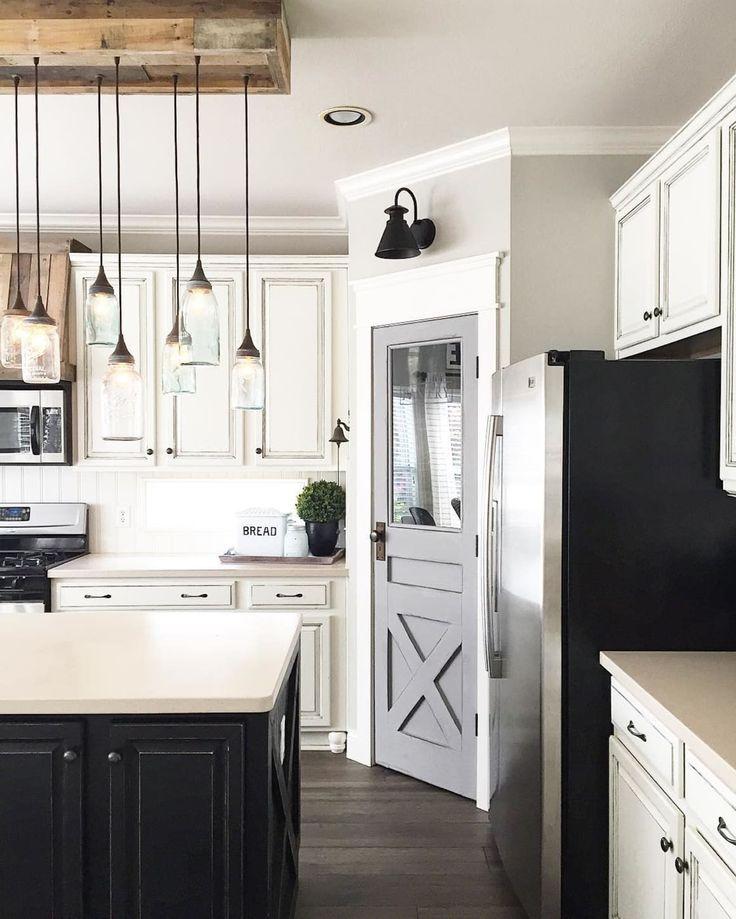 farmhouse corner cabinet ideas