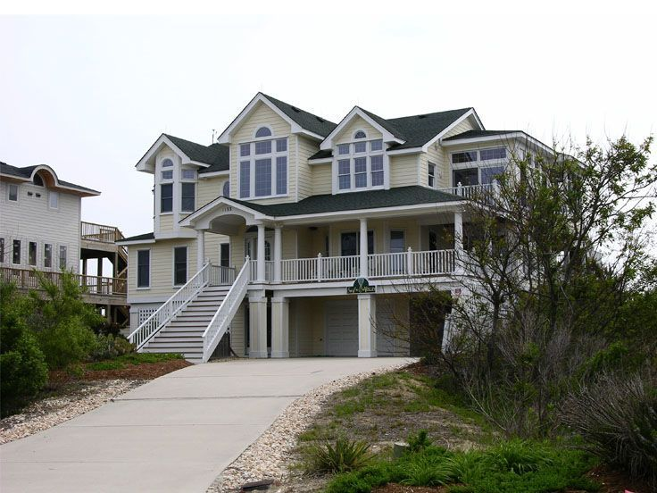 76 best premier luxury house plans images on pinterest for Luxury coastal house plans