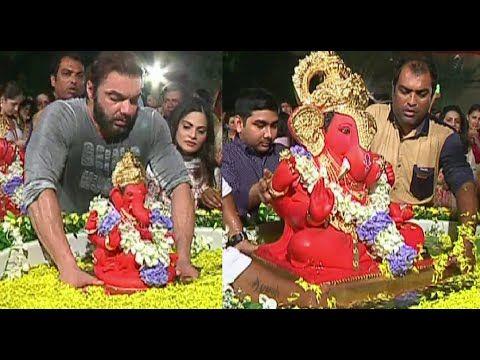 Salman Khan's Ganpati Visarjan 2015 | UNCUT VIDEO