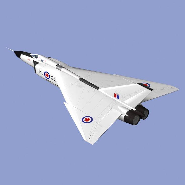 3d avro arrow