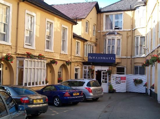 The Hand Hotel, Llangollen, Wales