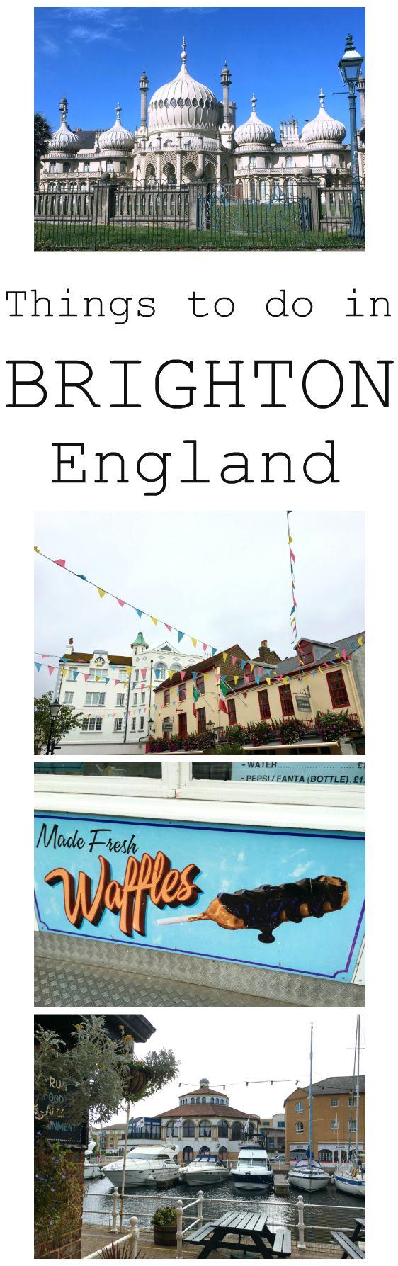What to do in Brighton, England. My tips and tricks. Wat doen in Brighton, Engeland. Bekijk mijn tips van mijn weekendje weg.