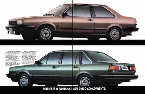 1984 VW Santana - Brasil